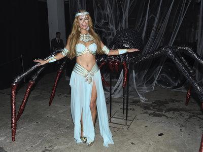 Las modelos y celebrities celebran Halloween, y se disfrazan (o lo intentan) para dar miedo