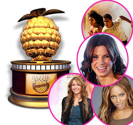 Los Razzies ya tienen nominados, ¡que tiemblen los Oscars!