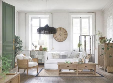 Sofa De 3 4 Plazas De Lino Lavado Blanco 1000