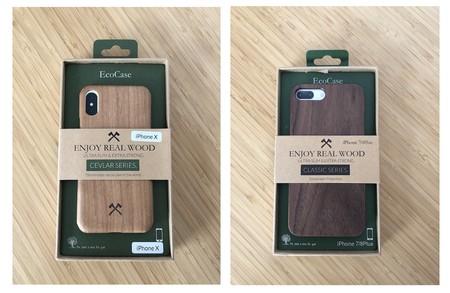 Carcasa Iphone Madera Cajas Carton