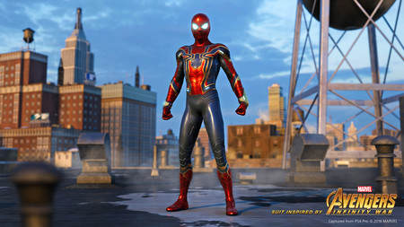Spider Man Iron Spider
