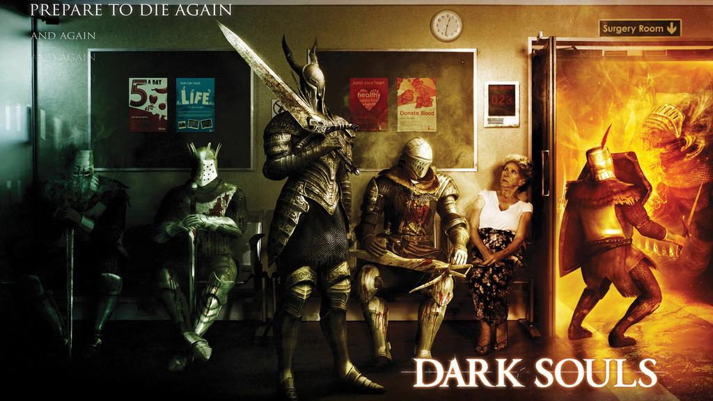 Anuncio Dark Souls