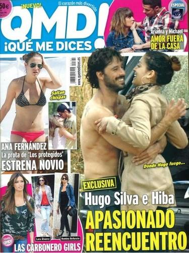 Hugo Silva e Hiba Abouk, se dan un segundo chance, ¡qué monos!