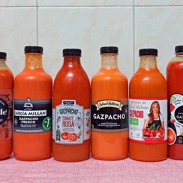 Probamos los gazpachos gourmet del súper: de las marcas más vendidas al de Belén Esteban o la chef Pepa Muñoz