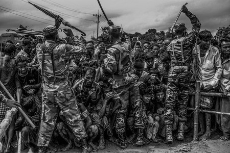 Life Inside the Refugee Camp, de Mohd Samsul Mohd Said. Sony World Photography Awards 2018.
