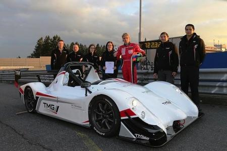Toyota bate el récord de coches eléctricos en Nürburgring Nordschleife