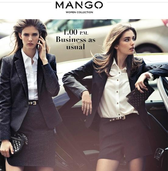 mango catálogo otoño 2012