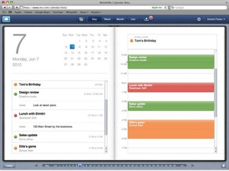 Apple MobileMe Calendar Beta para iPhone con iOS 4.0