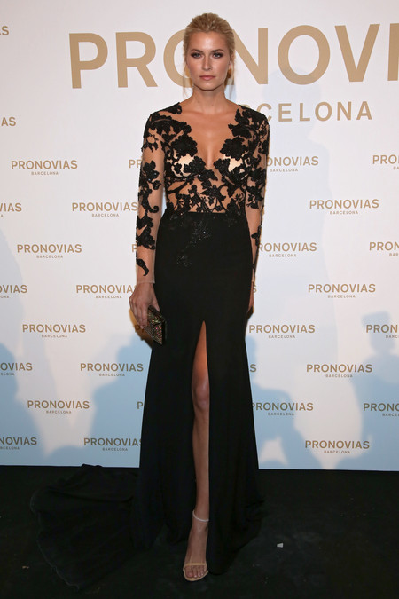 Lena Gercke Photocall Pronovias Fashion Show