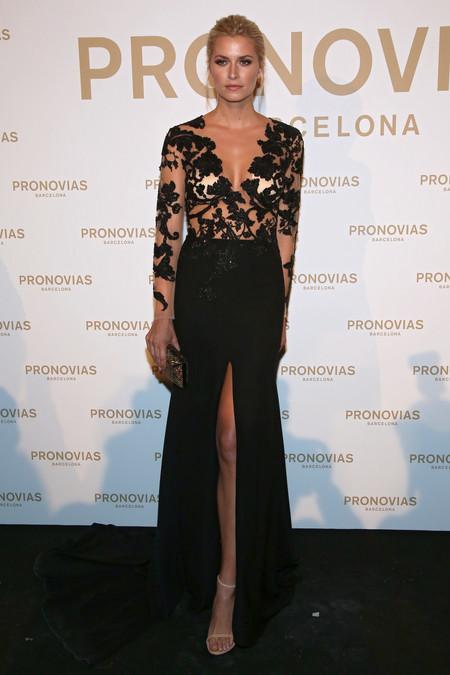 Lena Gercke Photocall Pronovias Fashion Show