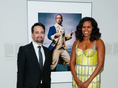 Michelle Obama y su vestido joya de Schiaparelli en la American Portrait Gala que es elegancia pura