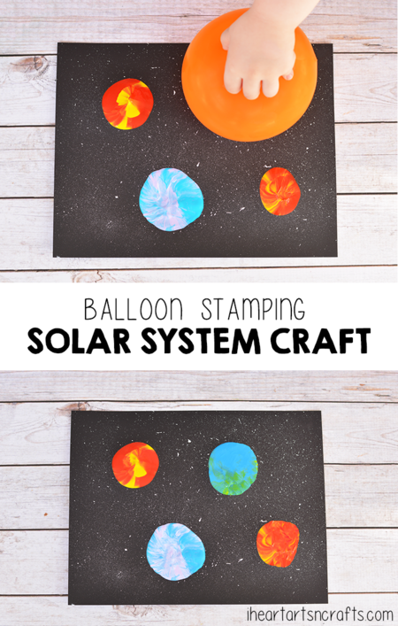 Manualidades Universo Espacio Exterior Planetas Sistema Solar 1