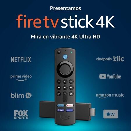 Amazon Fire TV Stick 4K de oferta en México