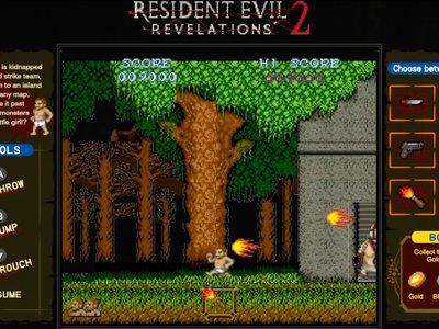 La versión para Nintendo Switch de Resident Evil: Revelations incluirá dos minijuegos exclusivos con toque retro