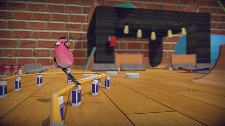 He jugado a Skatebird, un juego sobre pájaros en skate que resulta más mono que divertido