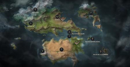 El MMO de League of Legends no está en desarrollo según un rioter