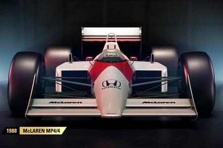 Molando todo: en el F1 2017 podrás conducir el McLaren de Senna y Prost o el Ferrari F2002 de Schumacher y Barrichello
