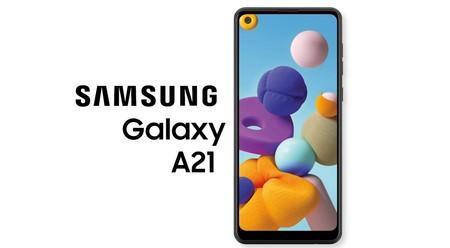 Galaxy A21: el hermano mayor de la gama baja de Samsung se pone al día con cuatro cámaras, agujero en la pantalla y panel AMOLED