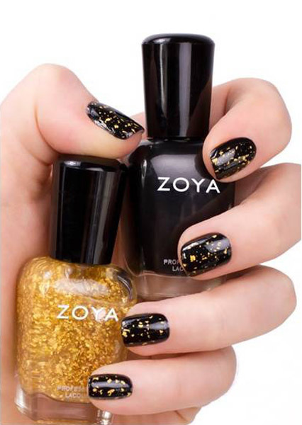"""Zoya lanza """"Gilty 18K Real Gold Flake Topcoat"""", para disfrutar de la vida sin sentirse culpable"""