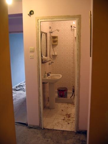 Antes y después: atreverse con un baño en rojo