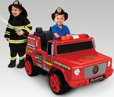Navidad 2011: el camión de bomberos más guay