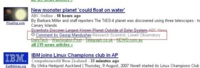 Comentarios en Google News