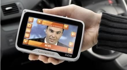 Navegador GPS VDO Dayton con televisión