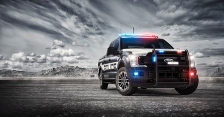 Ford F-150 Police Responder, la primera pick up en tener el rango para perseguir criminales