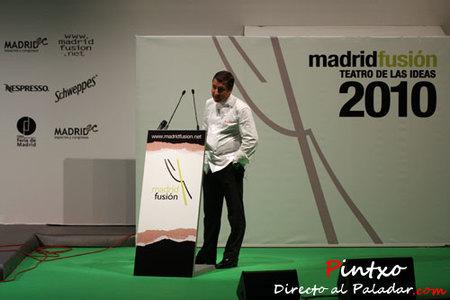 Joan Roca en Madrid Fusión
