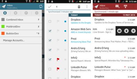 Apps Correo Maildroid