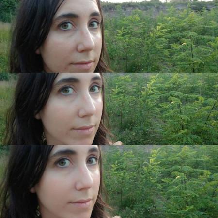 ZTE Axon 7: ajuste para selfie