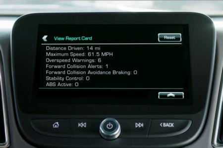 Chevrolet Teen Driver Report Card