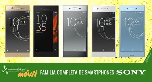 Sony Xperia XZ Premium, XZs, XA1 y XA1 Ultra, así encajan dentro del catálogo completo de smartphones Sony en 2017