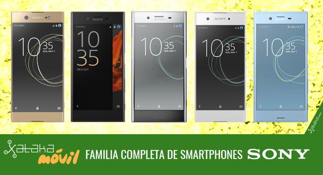 Catalogo Completo Smartphones Sony™ En 2017