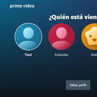 Amazon Prime Video estrena perfiles de usuarios con una experiencia personalizada y la opción de tener hasta seis