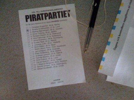 El Partido Pirata sueco denuncia el chantaje de la Industria para forzar la aprobación de la Ley Sinde