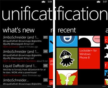 Unification, un centro de notificaciones para Windows Phone 8