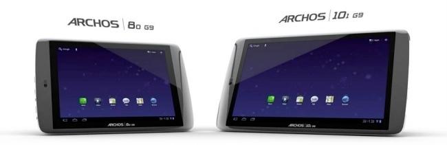 Archos G9 con ICS