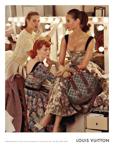 El look de otoño-invierno de las chicas Louis Vuitton, ¡me encanta!