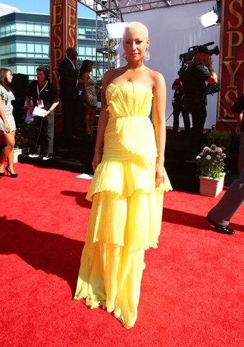 Todas las asistentes a los ESPY: vestidos de fiesta con celebrities sin clase. Amber Rose