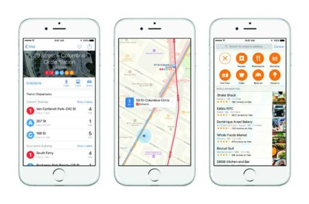 Apple Maps triplica en usuarios a Google Maps en el iPhone