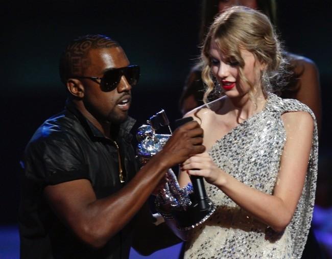 Kanye y Taylor