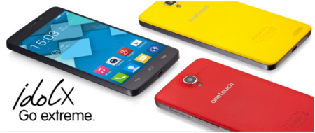 Alcatel One Touch Idol X Colores