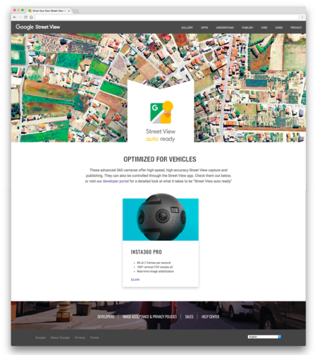 Upcoming Google View Ready Webpage