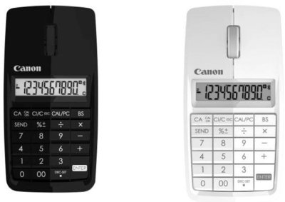 Canon X Mark I, o cómo hacer un híbrido entre ratón y calculadora