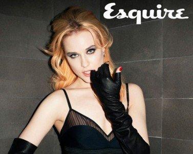 Evan Rachel Wood elige ponerse lencería de la fina para decir al mundo que es bisexual