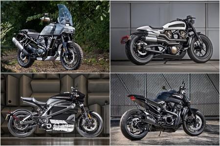 Varias motos eléctricas, una trail, una streetfighter... ¡Los planes de Harley-Davidson prometen!