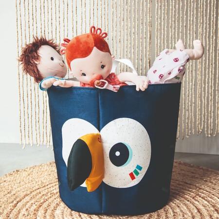 Lilliputiens 83238 83240 83122 83116 Pablo Storage Basket And Dolls