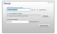 Flump, aplicación AIR para importar fotos de Flickr a nuestro ordenador