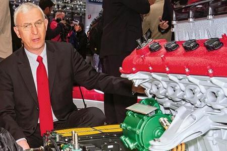 Ferrari planea más modelos con propulsión híbrida